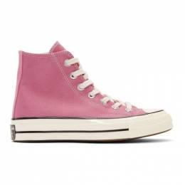 Converse Pink Chuck 70 High Sneakers 192799F12701206GB