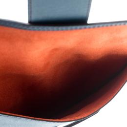 Lancel Blue Leather iPad Case