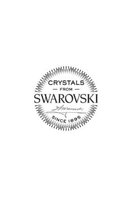 Серебристые серьги Crystal с кристаллами Furla 1962135605