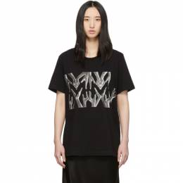Mm6 Maison Margiela Black Hands T-Shirt 192188F11000502GB
