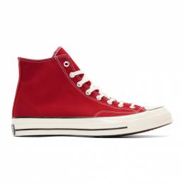 Converse Red Chuck 70 High Sneakers 192799M23601201GB