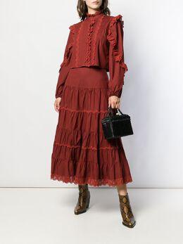 Ulla Johnson плетеная сумка-тоут с верхними ручками PF191106