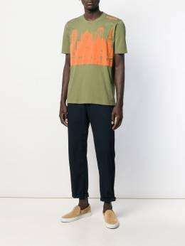 Mr & Mrs Italy - футболка с принтом 66939595369600000000