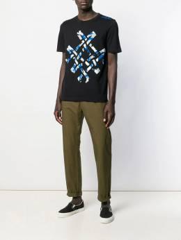 Mr & Mrs Italy - футболка с абстрактным принтом 66959595369000000000