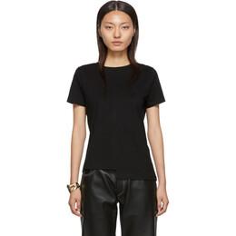 Loewe Black Asymmetric Monogram T-Shirt 192677F11000202GB