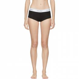 Calvin Klein Underwear Black Modern Cotton Boy Shorts 192325F07200201GB