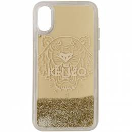Kenzo Gold Tiger iPhone X Case 192387F03200201GB