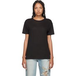 R13 Black Boy T-Shirt 192021F11001603GB