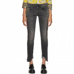 R13 Black Skinny Boy Jeans 192021F06900601GB