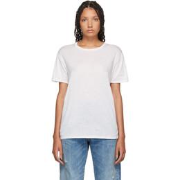 R13 Off-White Boy T-Shirt 192021F11001701GB