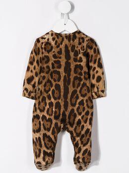 Dolce & Gabbana Kids комбинезон с узором L2JOP7G7TSL