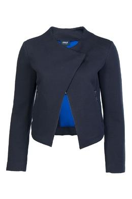 Синяя куртка из хлопка Armani Jeans 1742139168