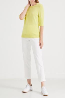Желтая кофта с рукавами ¾ Barrie 1707139507