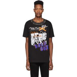 Faith Connexion Black NTMB T-Shirt 192848M21300202GB