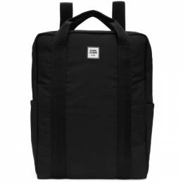 Opening Ceremony SSENSE Exclusive Black Logo Backpack 192261F04200501GB
