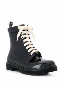 Sergio Rossi - ботинки на шнуровке 366MFN35995006356000