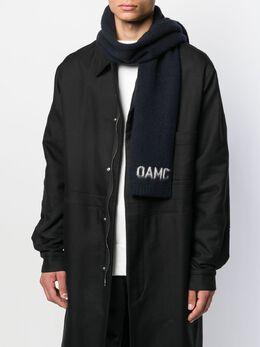 OAMC - шарф с контрастным логотипом P356363OPY06669A9593