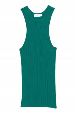 Зеленый топ в рубчик Sandro 914139663