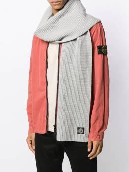 Stone Island фактурный шарф MO7115N15B5