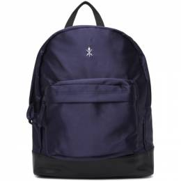 Opening Ceremony Navy Collegiate Backpack 192261M16600101GB