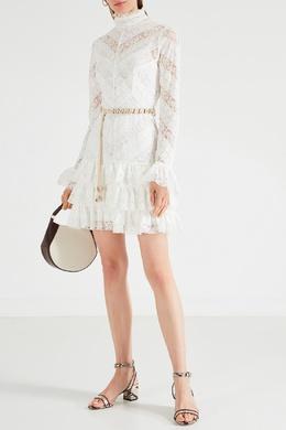 Короткое кружевное платье Veneto Zimmermann 1411137405