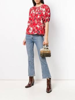 Ulla Johnson - блузка с цветочным принтом 09595093355000000000