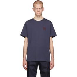 Loewe Navy Anagram T-Shirt 192677M21300305GB