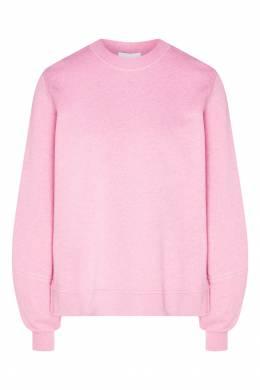 Розовый свитшот необычного кроя Ganni 2979139901
