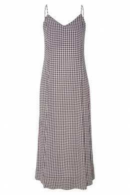 Платье-комбинация в клетку Ganni 2979140000