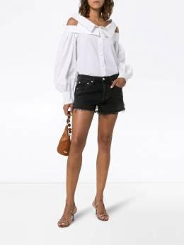 AGOLDE - джинсовые шорты с эффектом потертости 69683TIDAL9596603300