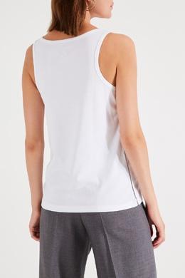 Майка с накладным карманом на груди Eleventy 2014138589