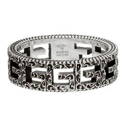 Gucci Silver Square G Ring 576993 J8400