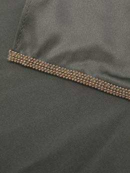 Brunello Cucinelli галстук с вышивкой бисером M0C59DG799CT933
