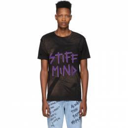 Faith Connexion Black NTMB Bleach T-Shirt 192848M21300304GB