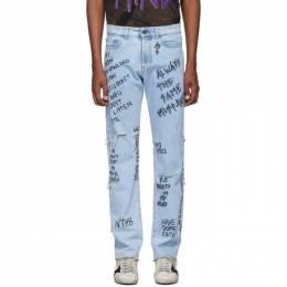 Faith Connexion Indigo Ring Jeans 192848M18600305GB