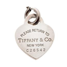 Tiffany & Co. Return To Tiffany Heart Tag Silver Charm Pendant Tiffany & Co. 208663