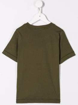 Stone Island Junior - футболка с нашивкой-логотипом 606953V6655959969680