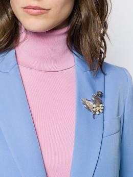 Susan Caplan Vintage - декорированная брошь 1960-х годов 03635959809860000000