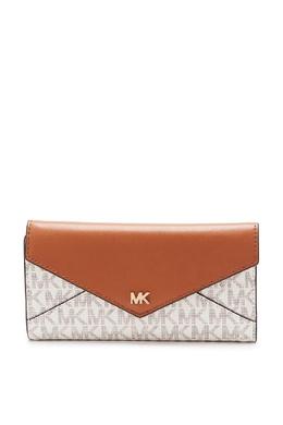 Бело-коричневый кошелек Money Pieces MICHAEL Michael Kors 984141835