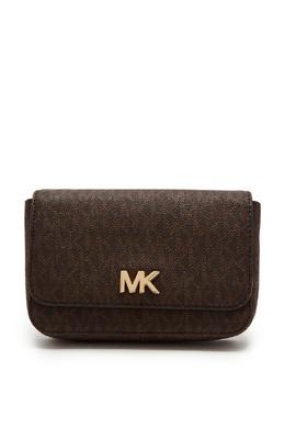 Коричневая сумка Mott с монограммами MICHAEL Michael Kors 984141814