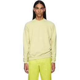 Haider Ackermann Yellow Dye Perth Sweatshirt 192542M20100401GB