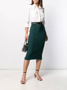 Elisabetta Franchi - юбка-карандаш с поясом 8596E095069350000000