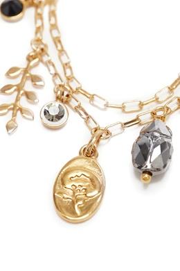 Золотистый браслет с подвесками Isabel Marant 140141461