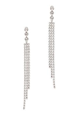 Длинные серьги с кристаллами Isabel Marant 140141459
