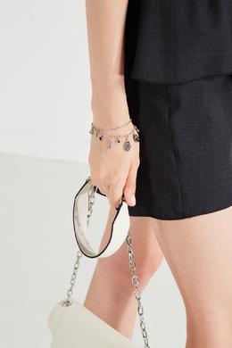 Двойной серебристый браслет Isabel Marant 140141527