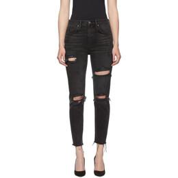 Grlfrnd Black Karolina Jeans 192966F06901503GB