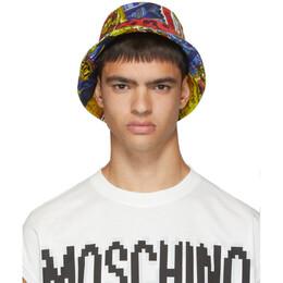 Moschino Multicolor Printed Bucket Hat 192720M14000102GB