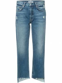 Grlfrnd - укороченные джинсы с необработанными краями 66553905659050000000