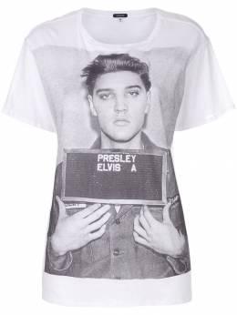 R13 - футболка-оверсайз 'Elvis' W3535659059383000000
