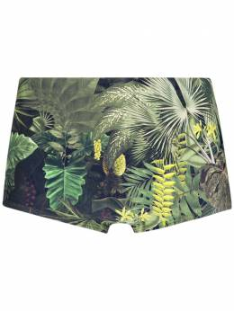 Lygia & Nanny - jungle print swim trunks 56659900539680000000